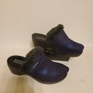 Crocs insulated clogs women's shoes size 9